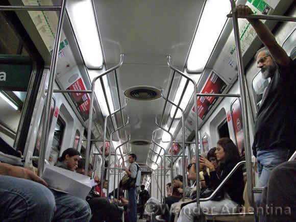 buenos aires subway car
