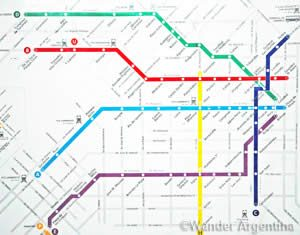 Idiosyncrasies of the Buenos Aires Subte Lines