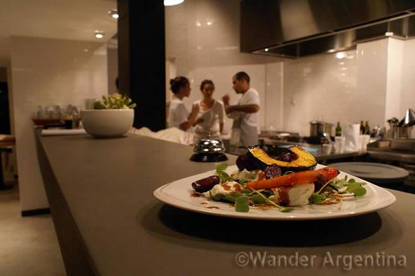 Interior shot of Maria Antonietta eatery in Mendoza