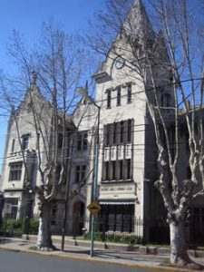 The Buenos Aires Rowing club building in the town of Tigre