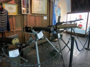 Canons on display at the National Arms Museum