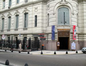 Streetside view of the Buenos Aires National Arms Museum