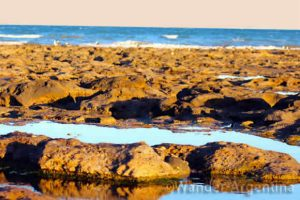 Beach at Las Grutas