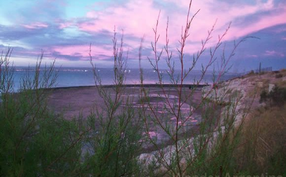 Sunset in Puerto Madryn, Chubut