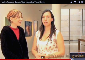 Ande Wanderer talks with Florencia González from MALBA