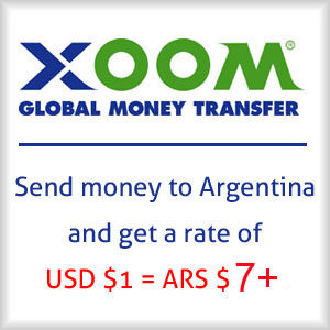 Send US dollars to Argentina & get 30% more pesos!