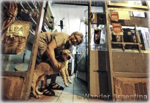 Foto of the Week — Kiosk Owner and Her Dog