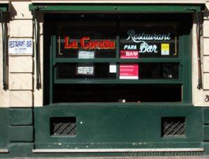 San Telmo's historic La Coruña Bar
