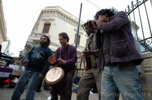 Foto of the Week: Impromptu Concert at the San Telmo Fair
