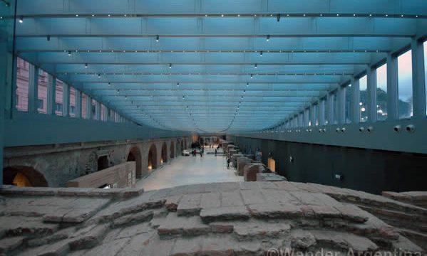 museo de Bicentenario buenos aires main hall