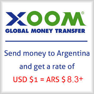 Xoom Ad — Transfer money to Argentina
