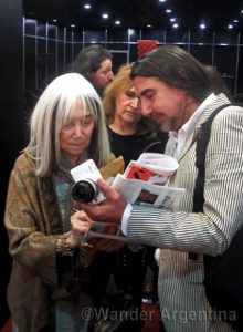 Foto of the Week: María Kodama at the Feria del Libro