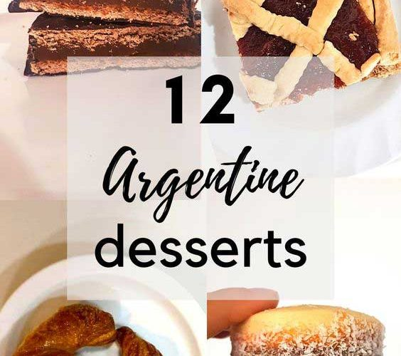 A guide to Argentine desserts