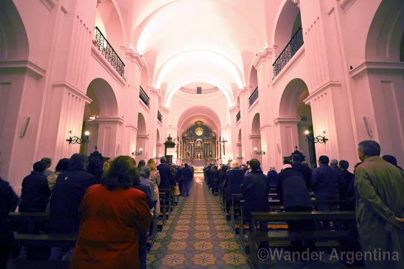 San Ignacio de Loyola church in Buenos Aires