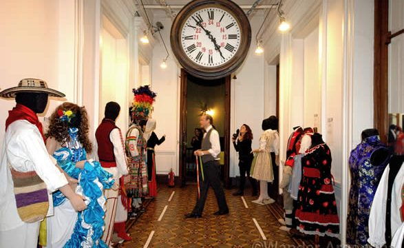 Exposition of Regional Garb at the Buenos Aires City Museum