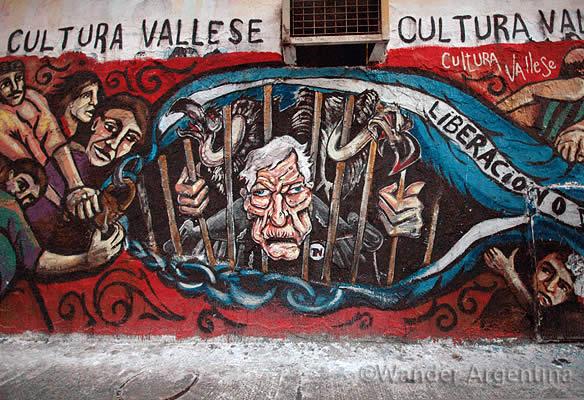graffiti in buenos aires of US judge griesa