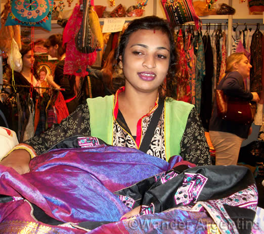 Foto of the Week: Vendor in the India Festival