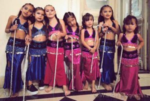 Foto of the Week:  Baby Bellydancer Troupe