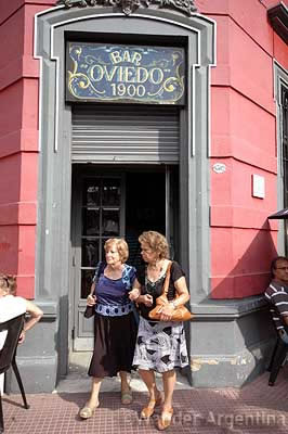 The historic Bar Oveida in Mataderos, province of Buenos Aires