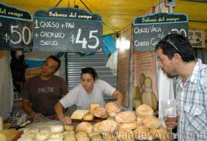 The Sabores del Campo stand at the Mataderos Fair
