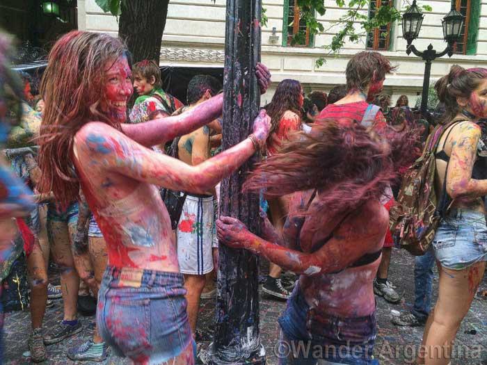 Schools out for summer party at Colegio de Buenos Aires