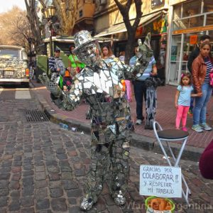 Foto of the Week: Mirror Man