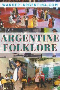 Argentine Folklore crowds dancing