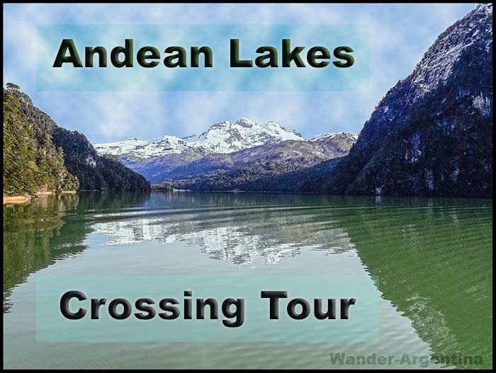Andean Lakes Crossing Tour. A picture of Lake Frias with Mount Tronador in the background