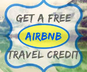 Get a Free AirBnB travel credit when you sign up