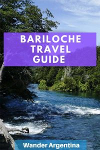 Wander Argentina's Bariloche Travel Guide by a local with a picture of the Manso River