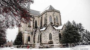San Carlos de Bariloche's neo-gothic cathedral