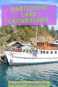 Bariloche Lake Excursions on the Modesta Victoria on Lake Nahuel Huapi