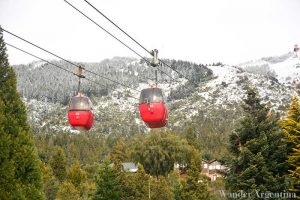 The Cable car up Mount Otto in Bariloche