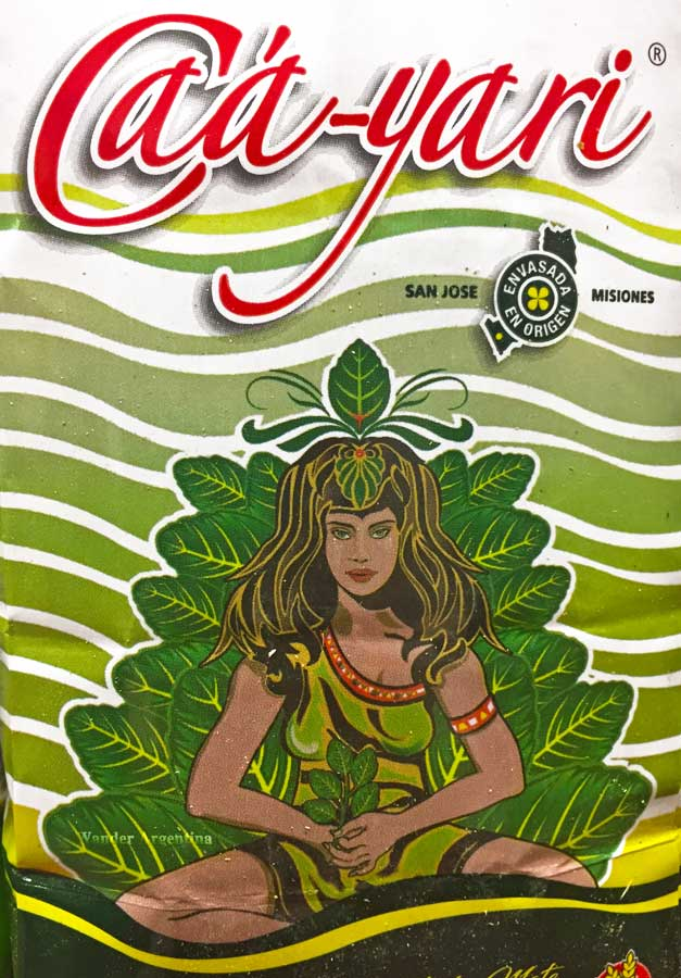 Yerba mate package of Caa Yarí brand