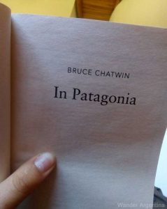 Bruce Chatwin's book 'In Patagonia'