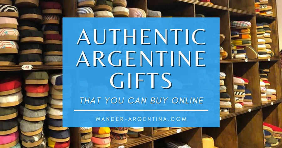Authentic Argentine Gifts that you can buy online