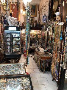 A jewelry store in San Telmo market
