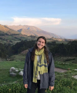 Tilly Dale in South America